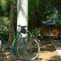 自転車と神社@赤城神社