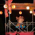 Photos: 櫓の上でコブラツイスト@桶川マルキユー