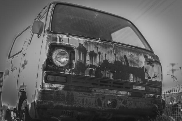 Photos: 廃車@吹上