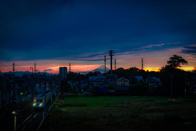 16号の陸橋@春日部