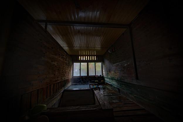 老松温泉喜楽旅館の浴場1@那須