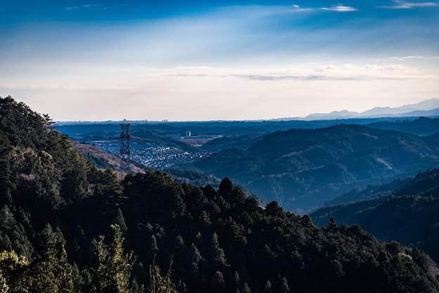 林道からの景色@毛呂山