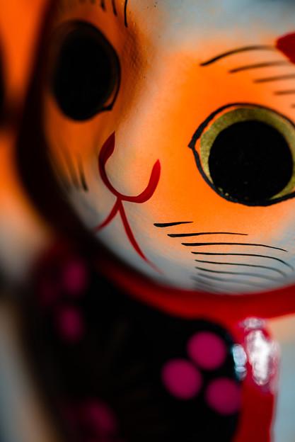 喜多院で買った招き猫2@ウチ