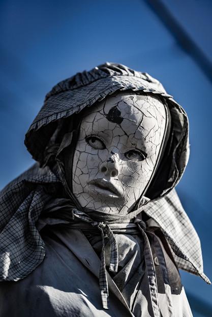 Photos: 怖いマネキン(お色直し)1@西浦和