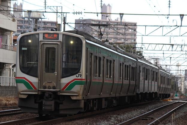E721系+701系+E721系