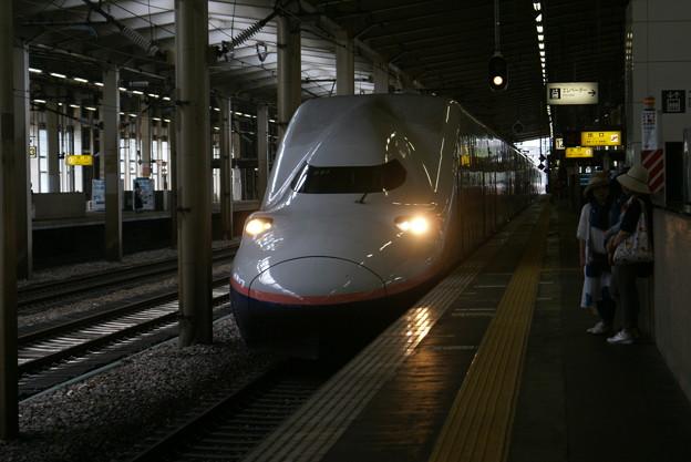 越後湯沢駅のMaxとき
