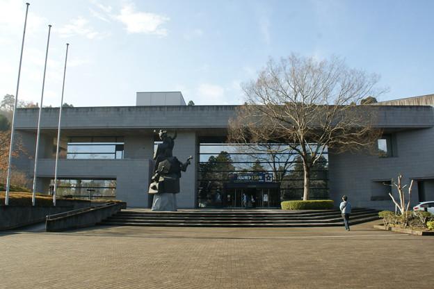 仙台市立博物館正面