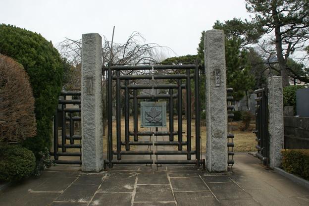 蓮華寺の門