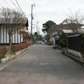 Photos: 武家屋敷があった辺りの通り
