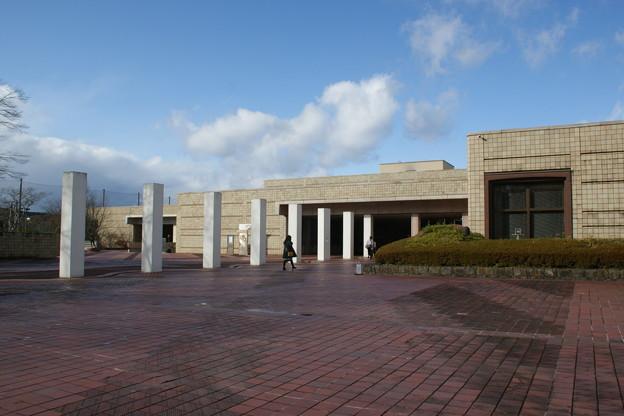 宮城県美術館入口