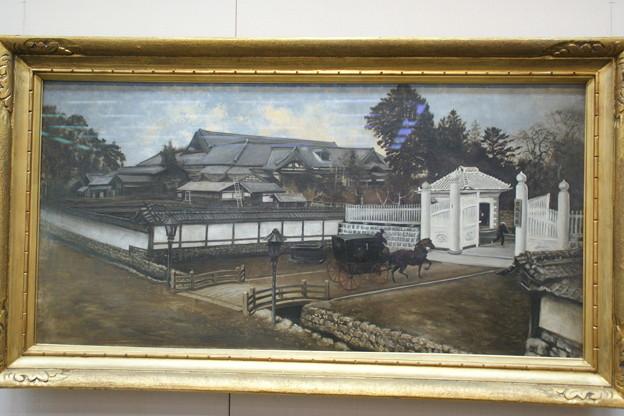 宮城県庁門前図