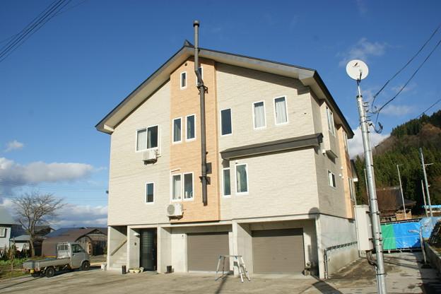 近くの典型的な住宅