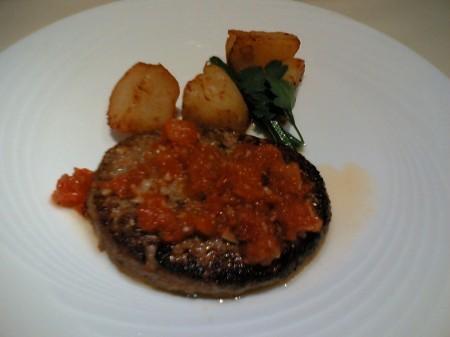 トラットリア パパミラノ ハンバーグランチ
