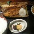 写真: 新宿 東府屋 焼き魚ランチ