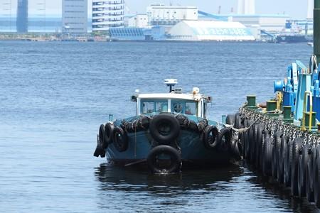 2014.05.24 山下公園 働く船