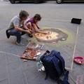 Photos: 2017.05.16 イタリア フィレンツェ 路上チョークアート