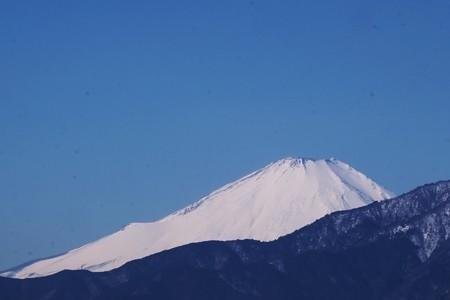 2018.02.07 駅前 富士山