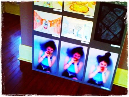 2018.02.13 ベーリック・ホール ユースギャラリー フェリス女学院 寝室の写真絵