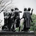 写真: 2018.03.16 国立西洋美術館 カレーの市民 1884-88 オーギュスト・ロダン