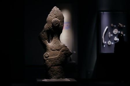 2018.03.16 東京博物館 バイラヴァ立像 インド の存在する空間