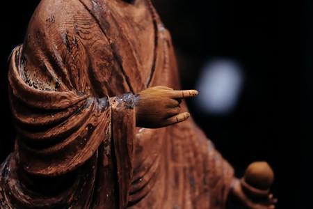 2018.03.16 東京博物館 雲中供養菩薩像 右手 平等院鳳凰堂内
