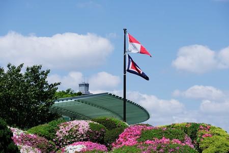 2018.04.19 港の見える丘公園 国際信号旗「安全な航行を祈る」