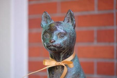 2018.04.19 大佛次郎記念館 猫の像
