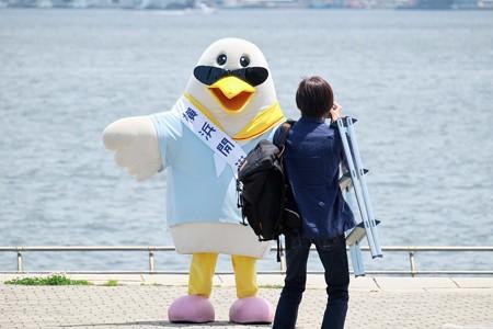 2018.06.01 臨港パーク 開港祭公式マスコット ちょい悪ハマー