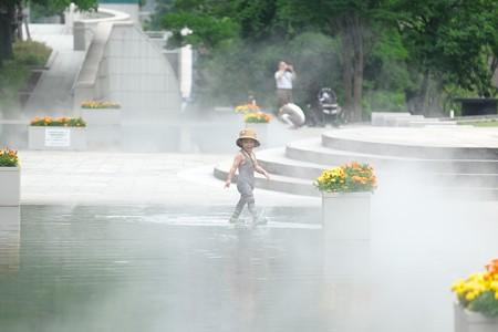 2018.06.12 横浜美術館 噴水