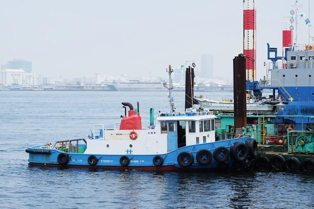 2018.06.12 新港埠頭 作業船 幸福丸