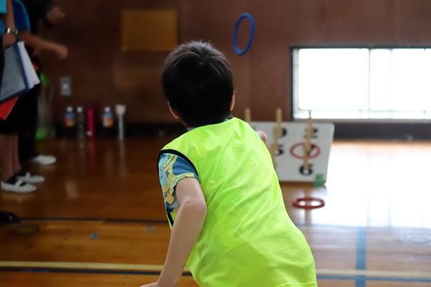 2018.06.17 小学校 町内対抗輪投げ大会