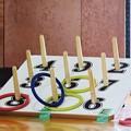 写真: 2018.06.17 小学校 町内対抗輪投げ大会 1