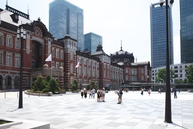 2018.07.19 東京駅 酷暑