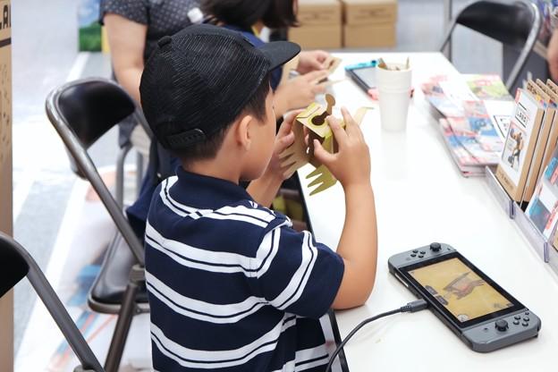 2018.07.29 ヨドバシカメラ Nintendo Labo 体験