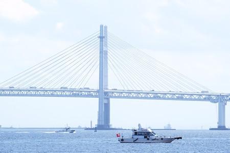 2018.08.23 みなとみらい 臨港パークから警戒船
