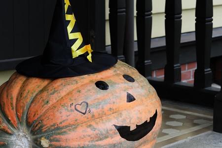 2018.10.19 外交官の家 玄関 Happy Halloween