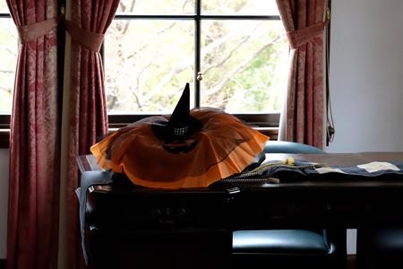 2018.10.19 外交官の家 書斎 Happy Halloween 準備