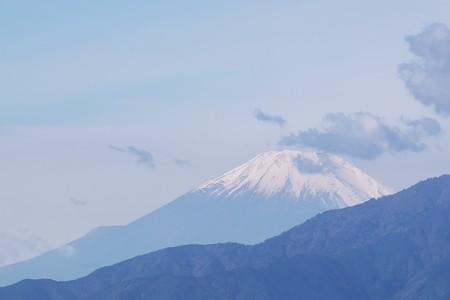 2018.10.31 駅前 富士山