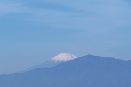2018.11.17 駅前 富士山