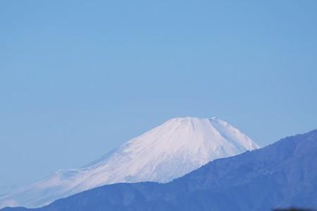 2018.11.24 駅前 富士山