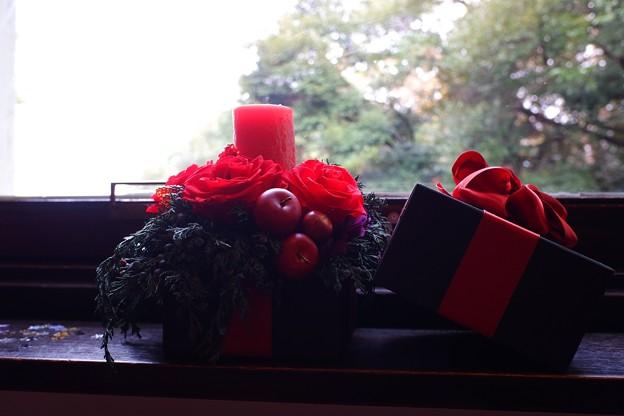 2018.12.05 エリスマン邸 世界のクリスマス2018 窓辺 蝋燭
