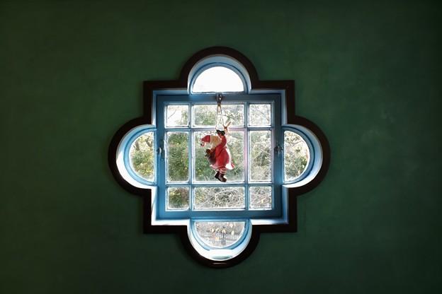 2018.12.05 ベーリック・ホール 世界のクリスマス2018 子供部屋 窓