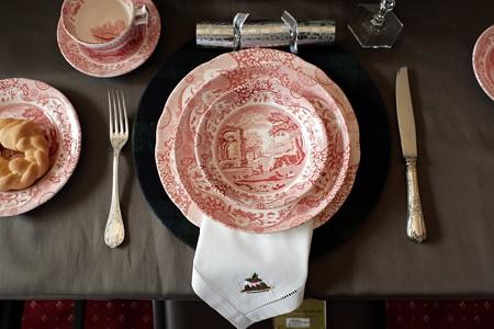 2018.12.05 横浜市イギリス館 世界のクリスマス2018 テーブルセット