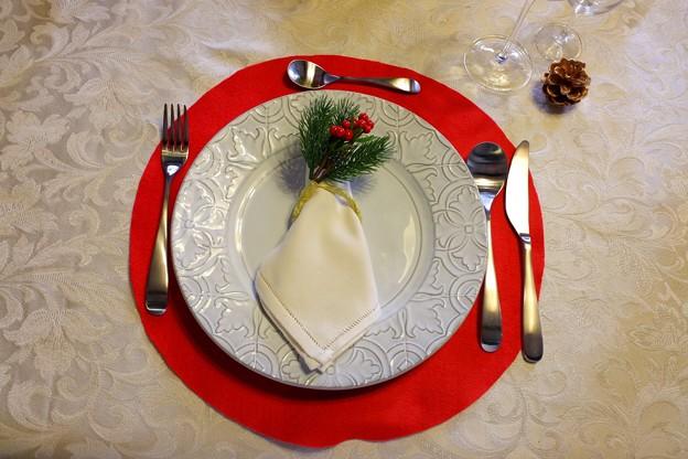 2018.12.05 外交官の家 世界のクリスマス2018 テーブルセット