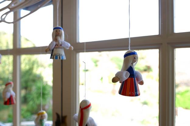 2018.12.05 山手111番館 世界のクリスマス2018 窓辺 少女