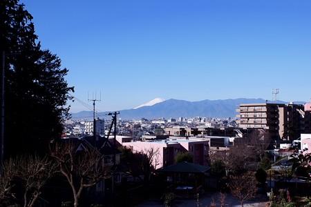 2018.12.19 通院道 富士山