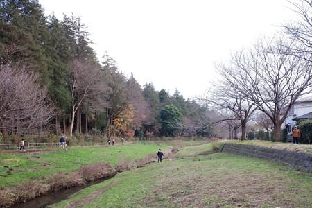 2018.12.26 和泉川 犬に引かれて