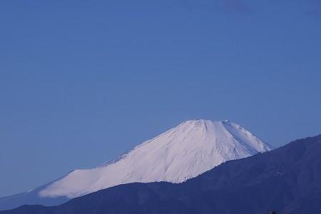 2019.01.09 駅前 富士山