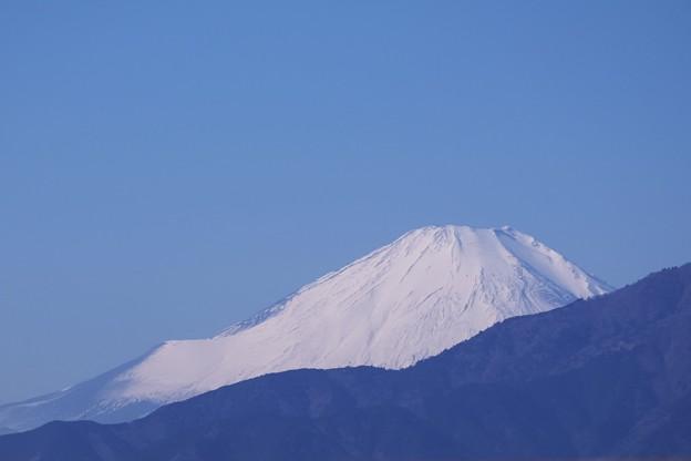 2019.01.19 駅前 富士山