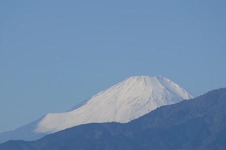 2019.01.27 駅前 富士山